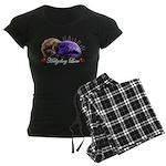 Hedgehog Love Women's Dark Pajamas