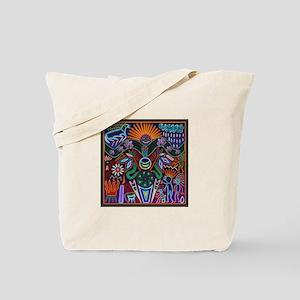 Chapala Huichol Tote Bag