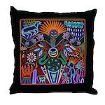 Chapala Huichol Throw Pillow