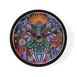 Chapala Huichol Wall Clock