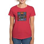 Chapala Huichol Women's Dark T-Shirt