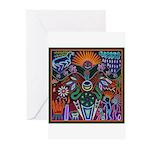 Chapala Huichol Greeting Cards (Pk of 10)