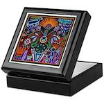 Chapala Huichol Keepsake Box