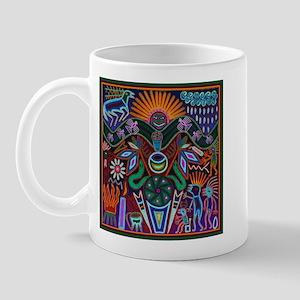 Chapala Huichol Mug