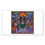 Chapala Huichol Sticker (Rectangle 50 pk)