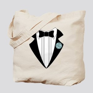 It's After 6pm Tuxedo Tote Bag