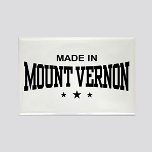 Made In Mount Vernon Rectangle Magnet