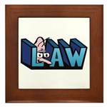 Law Framed Tile