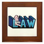 Law Framed Tile