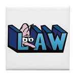 Law Tile Coaster