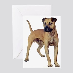 Real Bulldog Greeting Card