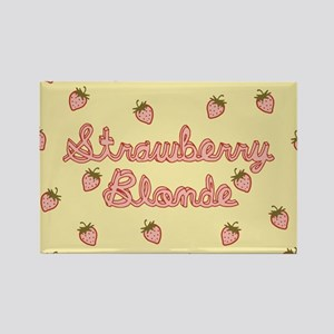 Strawberry Blonde Rectangle Magnet