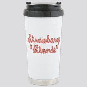 Strawberry Blonde Stainless Steel Travel Mug