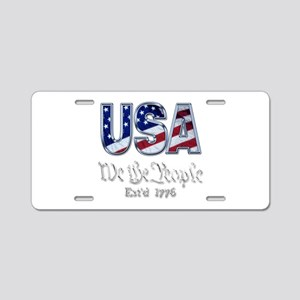 USA Aluminum License Plate