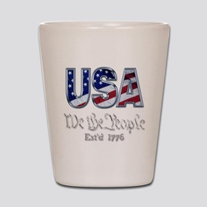 USA Shot Glass