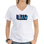 Law Women's V-Neck T-Shirt