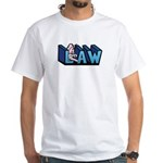 Law White T-Shirt