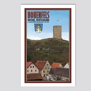 Hohenfels Tower Postcards (Package of 8)