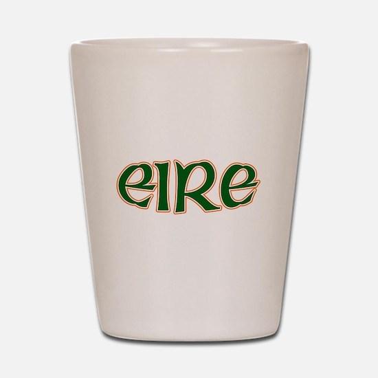 Eire Ireland Logo Shot Glass