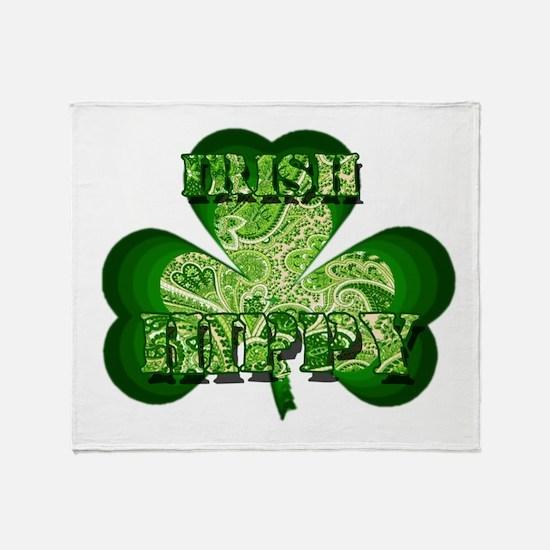Irish Hippy Paisley Throw Blanket