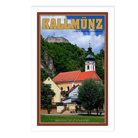 Kallmünz Castle / Church Postcards (Package of 8)