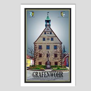 Grafenwöhr Rathaus Postcards (Package of 8)