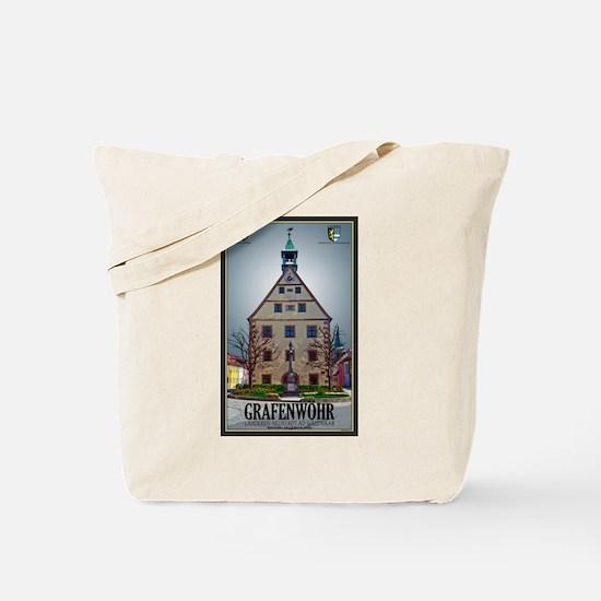 Grafenwöhr Rathaus Tote Bag