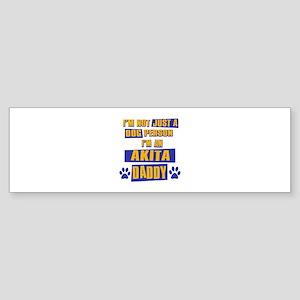Akita Daddy Sticker (Bumper 10 pk)