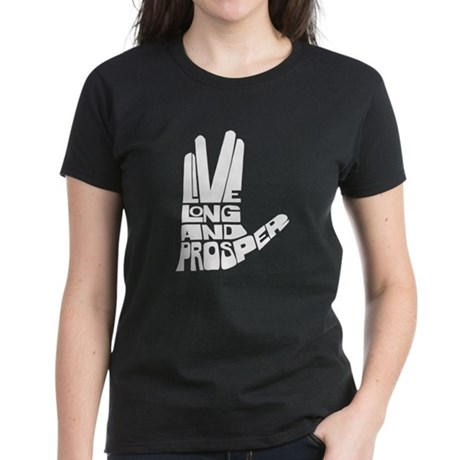 Live long and Prosper Women's Dark T-Shirt