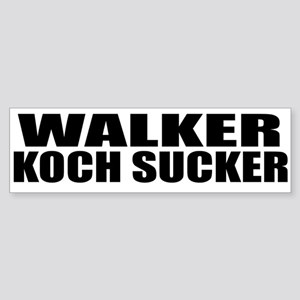 Walker Koch Sucker Sticker (Bumper)