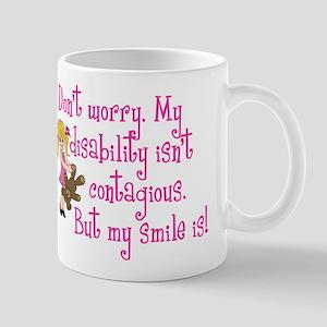 Contagious Smile (girl) Mug
