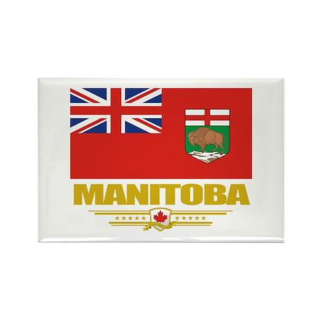Manitoba Pride Rectangle Magnet (10 pack)