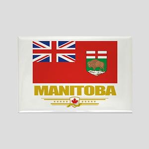 Manitoba Pride Rectangle Magnet