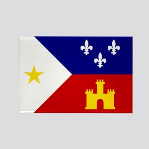 Flag of Acadiana Louisiana Magnets