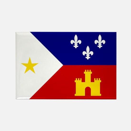 Flag of Acadiana Louisiana Magnets