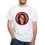 No Michele 2012 White T-Shirt