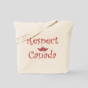 Respect Canada Tote Bag