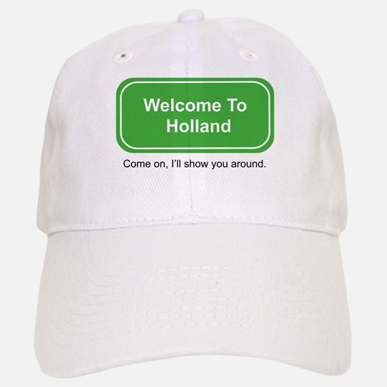 Welcome to Holland Baseball Baseball Cap