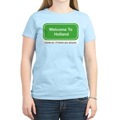 Welcome to Holland women's pink T-Shirt