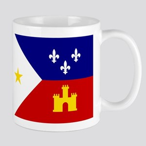 Flag of Acadiana Louisiana Mugs