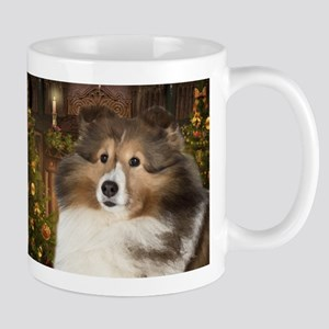 Sheltie Holiday Mug