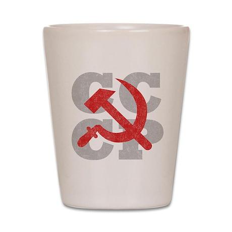 Vintage CCCP Shot Glass