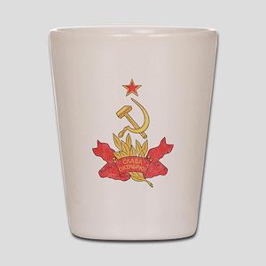 Vintage Soviet Shot Glass