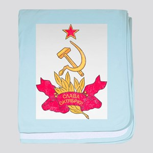 Vintage Soviet baby blanket