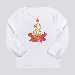 Vintage Soviet Long Sleeve Infant T-Shirt