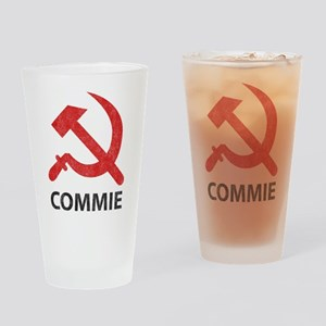 Vintage Commie Pint Glass