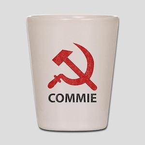 Vintage Commie Shot Glass