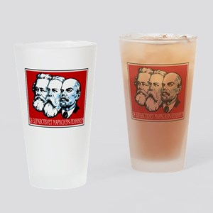 Marx, Engels, Lenin Pint Glass
