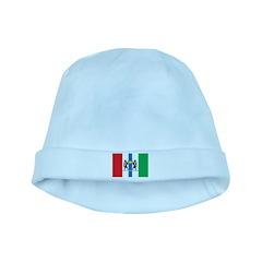 Novosibirsk Flag baby hat