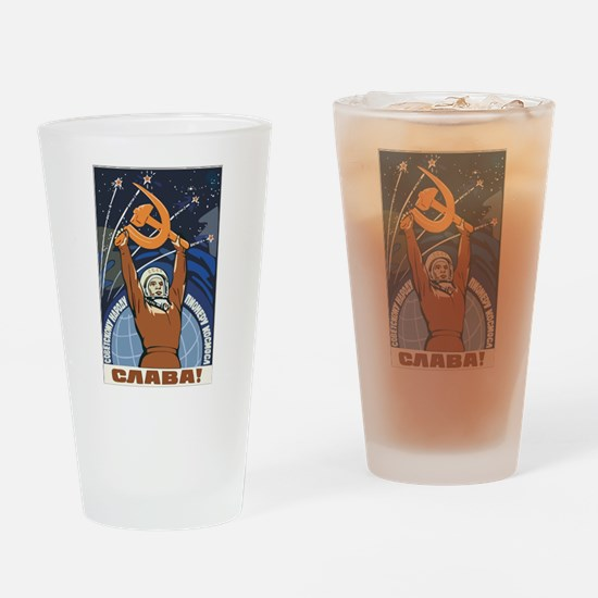 Communism Pint Glass